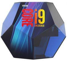 인텔 i5-9600K, i7-9700K, i9-9900K 공개